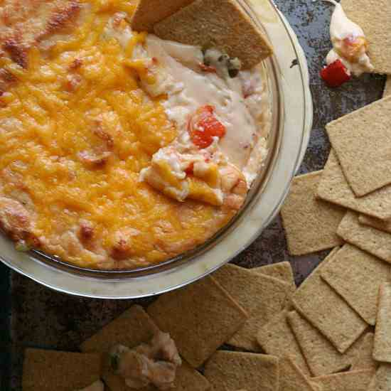 Roasted Red Pepper Cheese Dip
