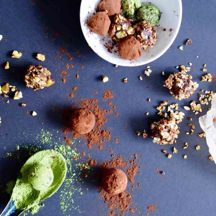 Ginger Infused truffles