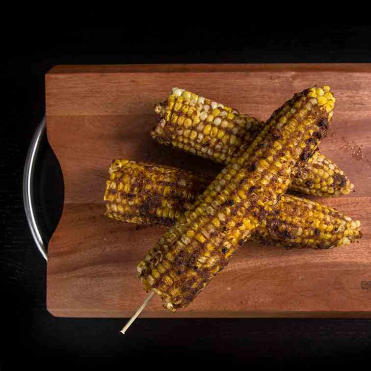 Taiwanese Pressure Cooker Corn on the Cob