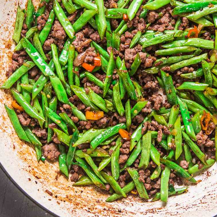 Beef Green Bean Stir Fry