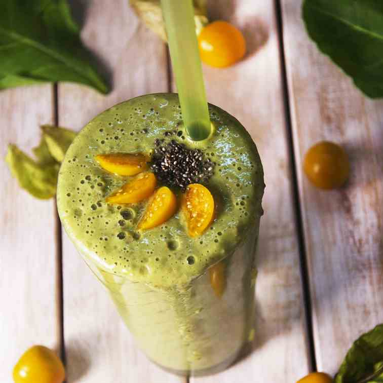 Cape Gooseberry Detox Green Smoothie