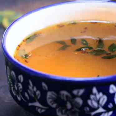 How To Make South Indian Ginger Rassam