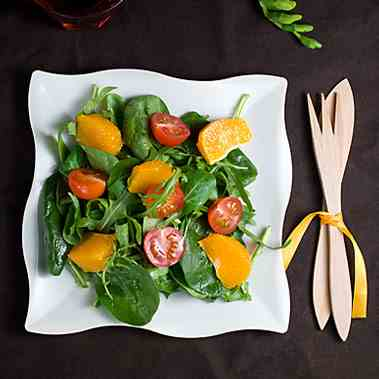 Gourmet Greens and Tangerines