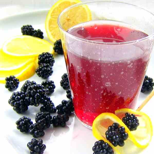 Italian Blackberry Soda - Pressure Cooker