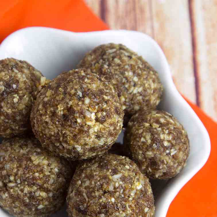 Turkish Apricot - Coconut Energy Balls
