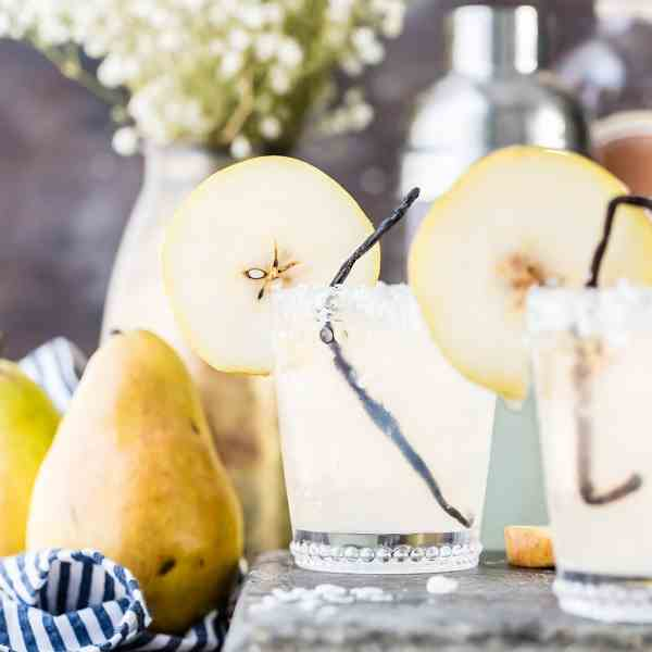 Pear Vanilla Coconut Cooler