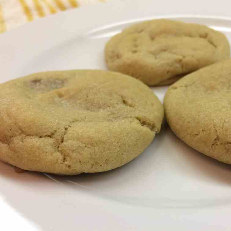 Rolo Stuffed Cookies Adorned with Sea Salt