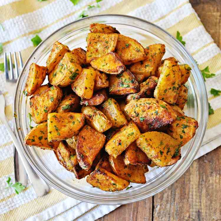 Roasted Spanish Potatoes