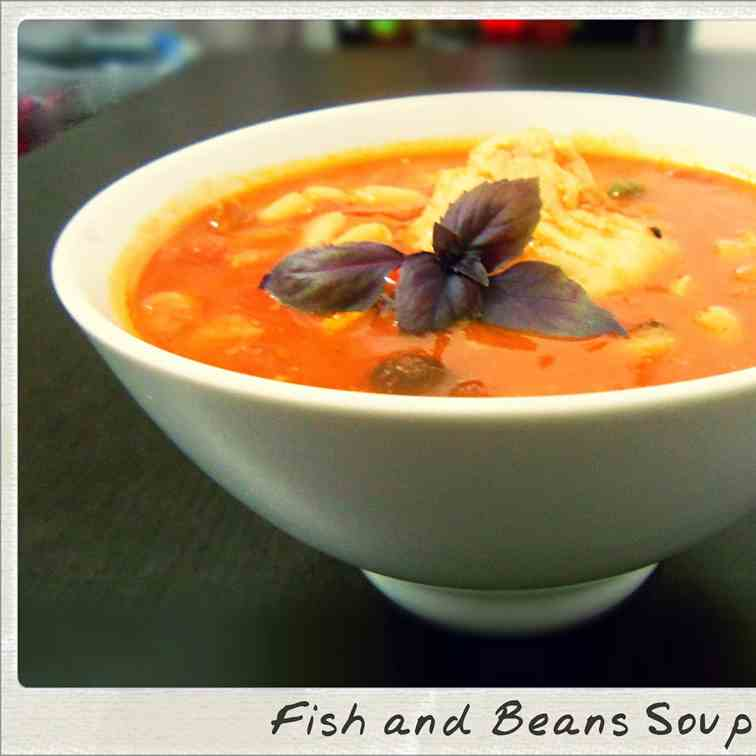 Comfort Food: Fish and Beans Soup