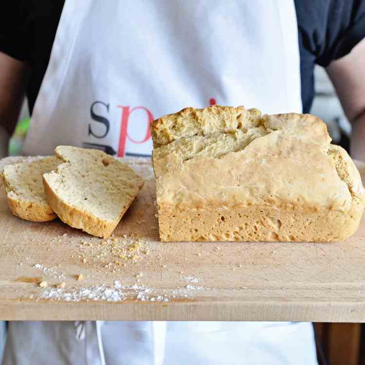 Miracle NO-KNEAD Homemade Beer Bread