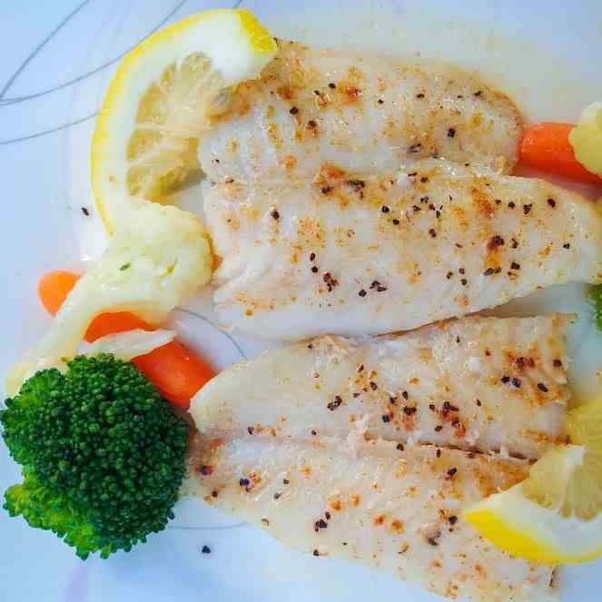Lemon Butter Swai Fish