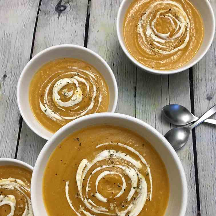 Spiced Sweet Potato Soup