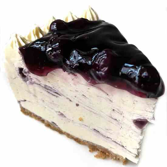 Non Bake Blueberry cheesecake