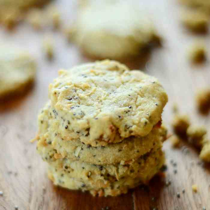 Mulberry Chia Breakfast Cookies