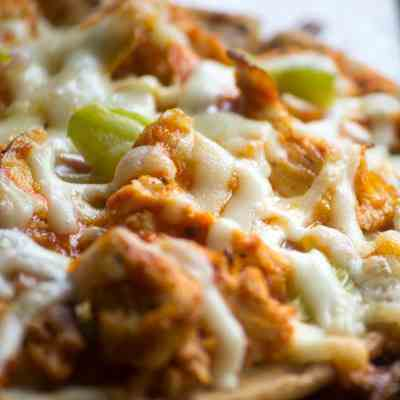 Flatbread Buffalo Chicken Pizza