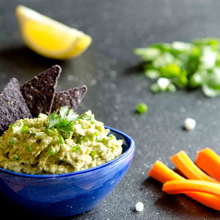 Broccoli Avocado Hummus