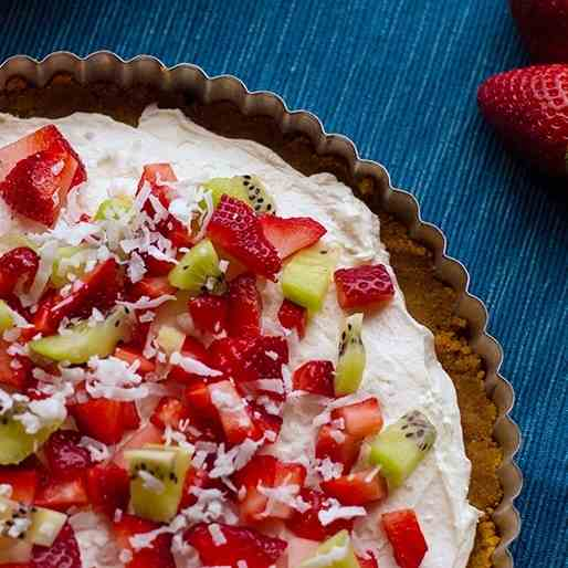 No-Bake Fruit Pizza