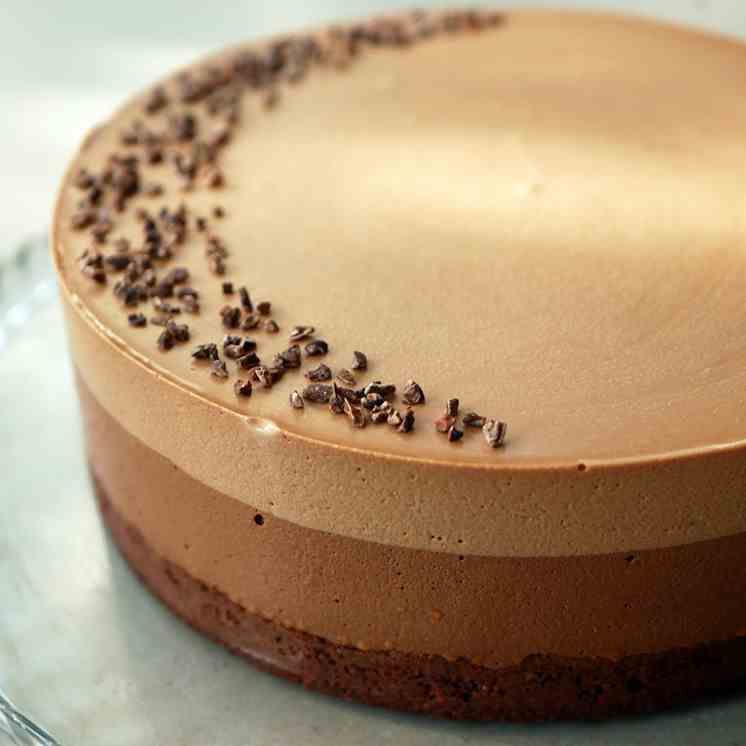 Coffee Gianduja Chocolate Mousse Ca