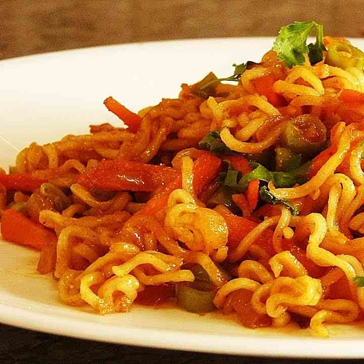 Masala Noodles Recipe