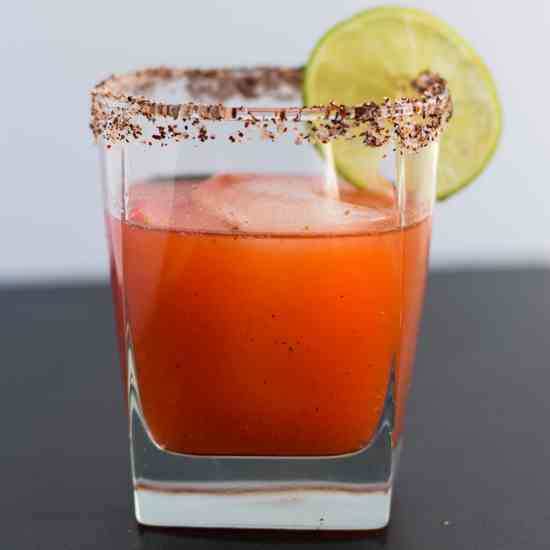Strawberry Chipotle Margarita