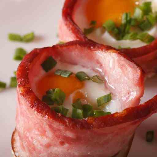 Whole 30 Bacon - Eggs In The Airfryer