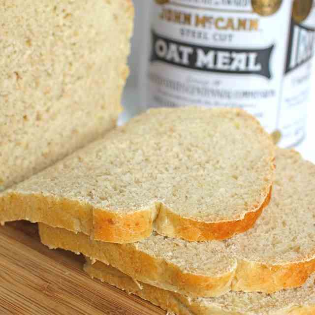 Irish (Steel Cut) Oatmeal Bread
