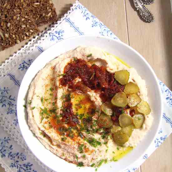 Romanian White Bean Dip