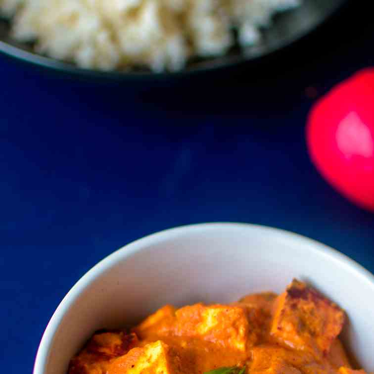 Paneer Butter Masala - Indian Cheese Curry