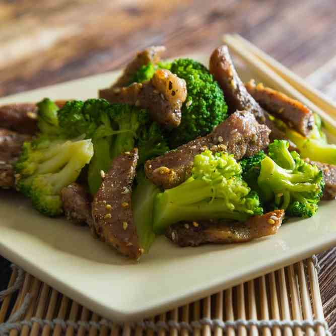 Instant Pot Beef - Broccoli Recipe