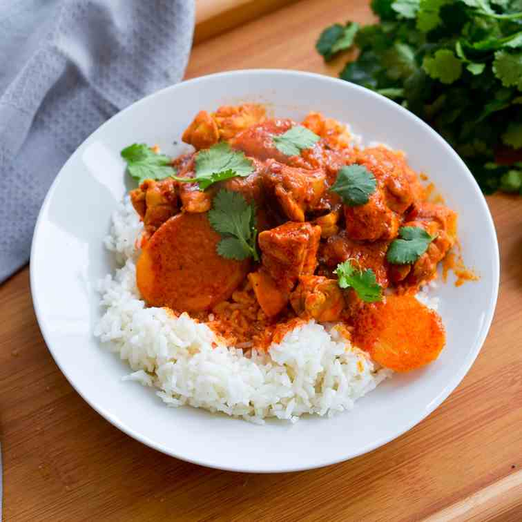 30-minute Chicken Curry