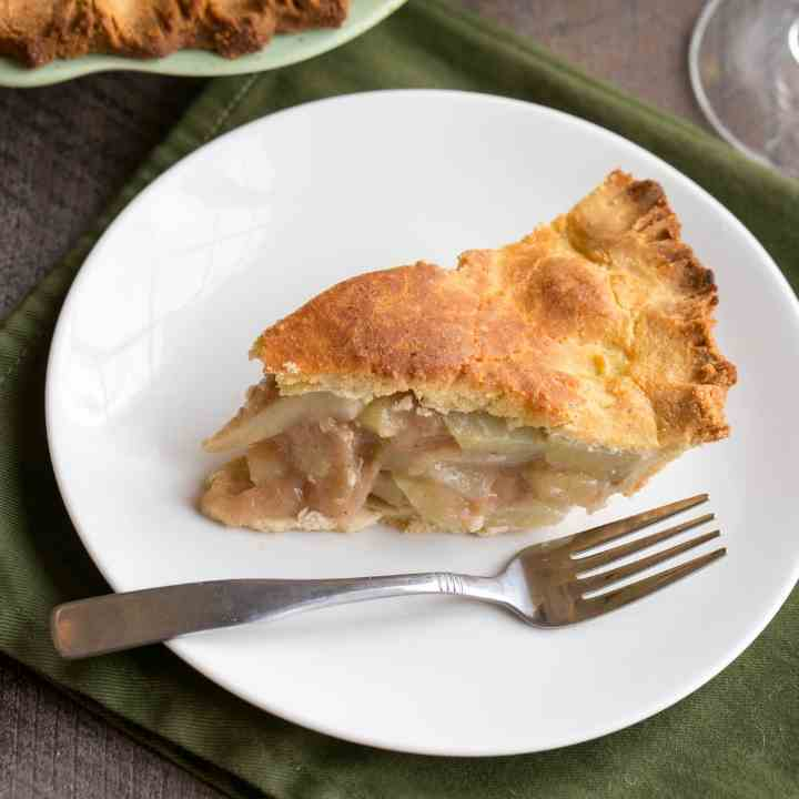 Chayote Squash Mock Apple Pie