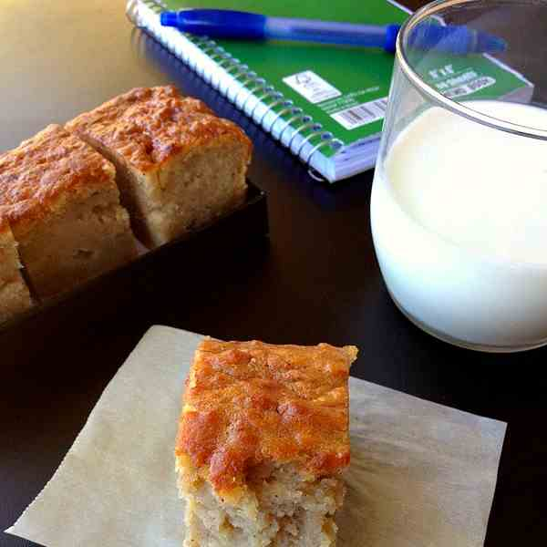 Apple Banana Breakfast Cake
