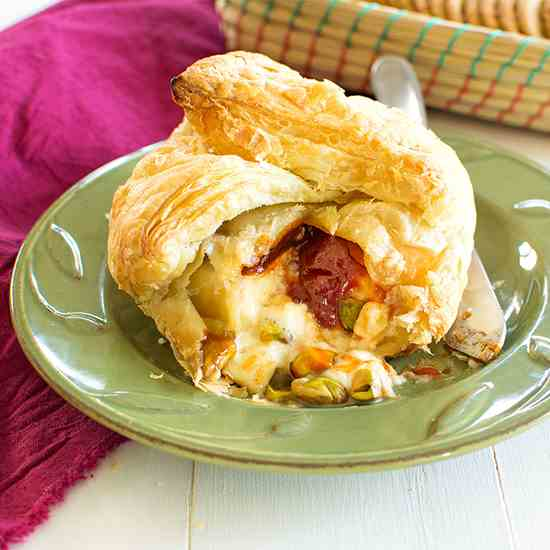 Baked Brie with Guava