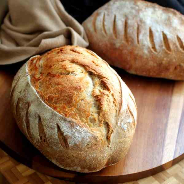 Farmers Bread with Spelt and Rye flour