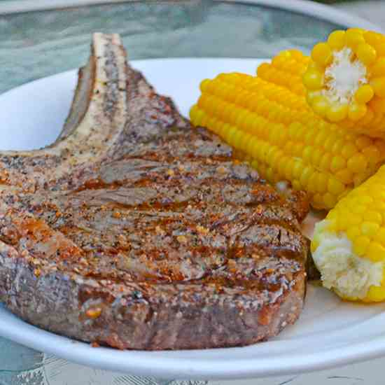 Perfect Grilled Ribeye