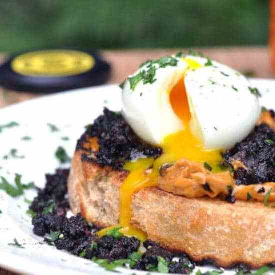 Crispy Black Pudding Breakfast