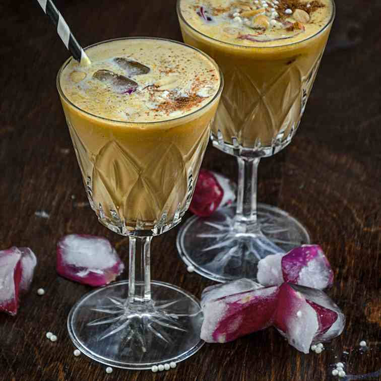 Spiced Chai Pumpkin Smoothie